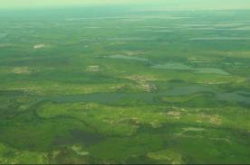 paisaje africano_vista_aerea_del_lago_chad